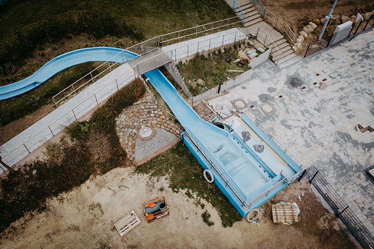 Heidebad Umbau April 2021