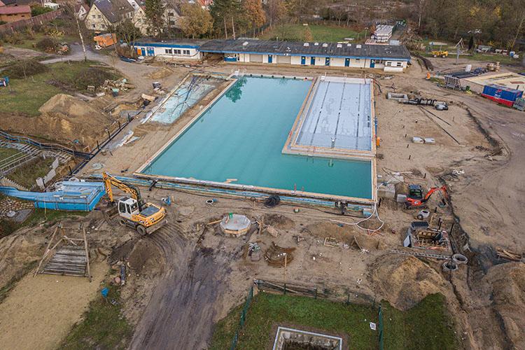 Heidebad Umbau Dezember 2020