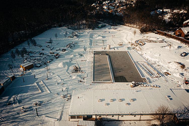 Heidebad Umbau Februar 2021
