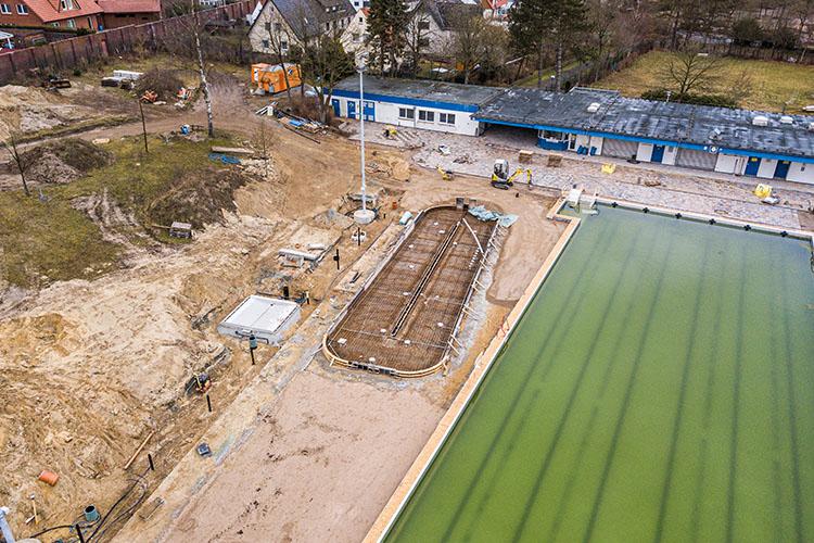 Heidebad Umbau März 2021