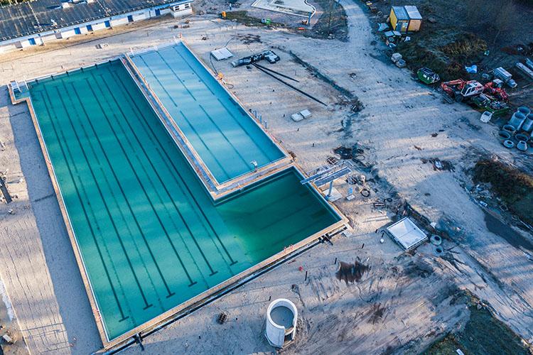 Heidebad Umbau November 2020